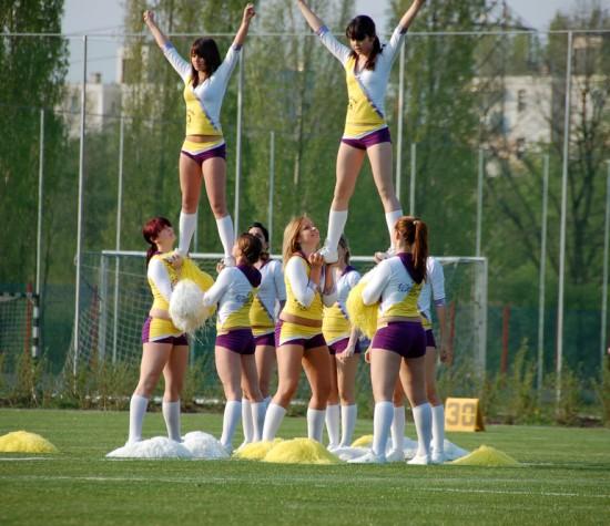 Cheerleading Team image